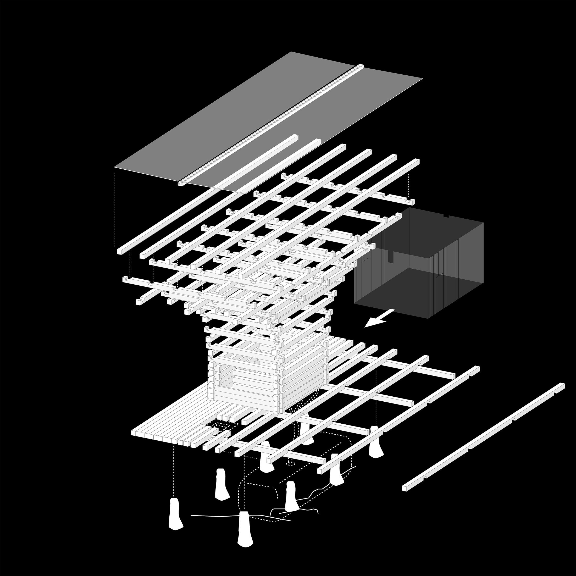 Skomakerdiket, Skomakerriket, AFK, Arkitketur, Arkitekt, Knut Folstad, Laft, Byggeskikk, Moderne, Tre, Varmestue, Bergen, Fjell, Norway, Mountain, Architecture